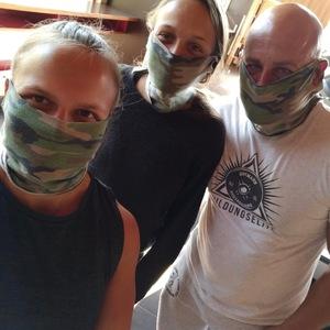 Das Mund-Nasen-Schutz-Dreamteam